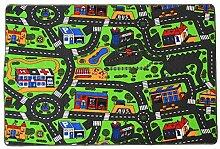 Kinderteppich CITY - 95cm x 200cm,