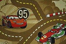 Kinderteppich Disney CARS Teppich Straßen