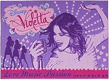 Kinderteppich Disney Violetta - Love Music