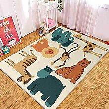 Kinderteppich Junge Waldtiere Teppich Kinderzimmer