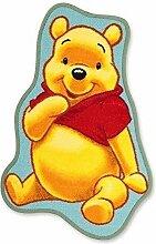 Kinderteppich Kinder Teppich Wandteppich Spielteppich Läufer moderner Kinderzimmer Teppich Kinderzimmerteppich Winnie the Pooh Konturen Teppich ca. 50 x 80 cm