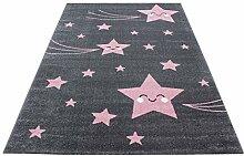 Kinderteppich Niedliche Sterne Muster Kinderzimmer