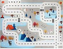Kinderteppich Spielteppich City Hafen