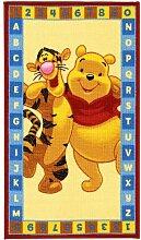 Kinderteppich Winnie the Pooh ABC 140 x 80 cm