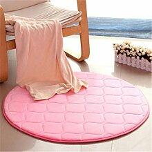 KinderteppichRunder Wohnzimmer Teppich, Schlafzimmer Nachttischdecke, Computer Stuhl Matten, Hause Teppich , 4 , diameter 60cm