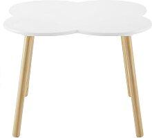 Kindertisch in Weiß/ Pinienfarben 'Lea'
