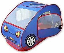 Kinderzelte Haus Cartoon Auto Strand Zelt Spielhaus