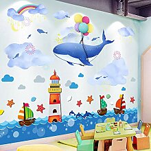 Kinderzimmer Aufkleber Cartoon Baby frühe Bildung