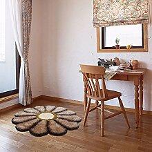 Kinderzimmer Bett Teppiche/ Haushalt Tür Decke/Einfache ländliche moderne Schlafzimmer Teppich-C Durchmesser100cm(39inch)