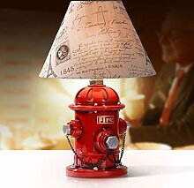 kinderzimmer Bett tischleuchten,Feuer hydrant