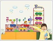 Kinderzimmer Cartoon Aufkleber Klassenzimmer