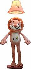 Kinderzimmer Cartoon Lion Stehleuchte Für Jungen