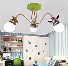 Kinderzimmer Deckenleuchte Moderne Cartoon Tier