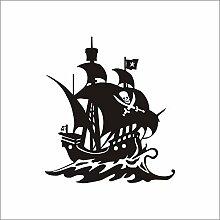 Kinderzimmer Dekoration Karibik Piratenschiff