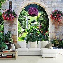 Kinderzimmer dekorative Tapete Mediterranen Garten