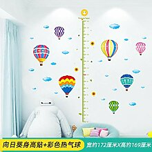 Kinderzimmer Höhe Wandaufkleber Wanddekoration