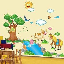 Kinderzimmer Jungenschlafzimmer Wanddekoration