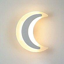 Kinderzimmer-Karikatur-Mond-Dekoration LED