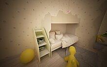 Kinderzimmer komplett Hochbett mit Gradinata und