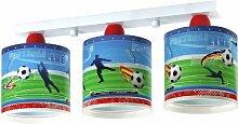 Kinderzimmer-Lampe Fußball Decken-Lampe 60463 mit