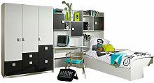 Kinderzimmer Pascal 4-tlg Kleiderschrank