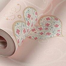 Kinderzimmer Tapete/Schlafzimmer Tapeten Mädchen/Kinderzimmer Tapete/Kein Geruch Herz Wallpaper-A
