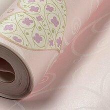 Kinderzimmer Tapete/Schlafzimmer Tapeten Mädchen/Kinderzimmer Tapete/Kein Geruch Herz Wallpaper-B