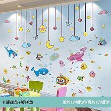 Kinderzimmer Tapete selbstklebende Malerei