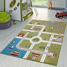 Kinderzimmer Teppich Mit Design City Hafen Stadt