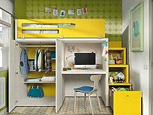 Kinderzimmer Vita 41 Hochbett mit Treppe viel