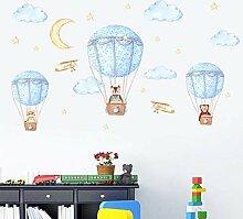 Kinderzimmer Wandaufkleber Kindergarten