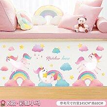 Kinderzimmer Wanddekoration Aufkleber Cartoon