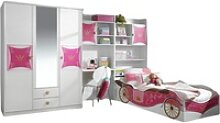 Kinderzimmer Zoe 4-tlg. Kleiderschrank mit