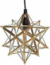 Kinderzimmerlampe ausgesetzt 12 zackigen Stern,