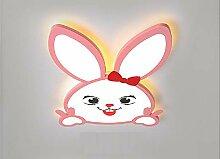 Kinderzimmerlampe LED niedliche Hase Deckenlampe