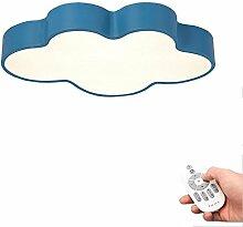 Kinderzimmerlampe White Blaues Wolke Dimmbar Mit