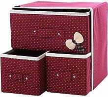 KINDOYO 2 Tier Aufbewahrungsboxen - Faltbare