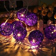 KING DO WAY 20er Lichterkette LED Mini Schoene