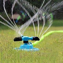 KING DO WAY 360 grad kreis rotierenden duesen garten schlauch wasser sprinkler bewaesserung pflanzen Garten Rasen Spray Sprinkler