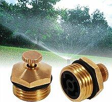 KING DO WAY 5pcs Sprinklersystem Sprinkler Spray Kopf, Zerstäubungseffekt einzustellen,DN15