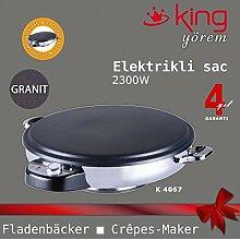 King GRANIT Fladenbäcker Crepes-maker Pitabrot-