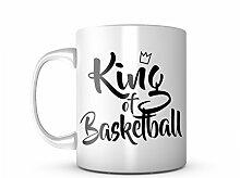 King Of Basketball Game Ball Komisch Cool
