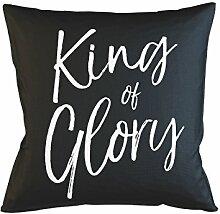 King Of Glory Schlafsofa Home Décor Kissen Kissenbezug Fall Schwarz