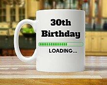King34Webb Tasse zum 30. Geburtstag, Geschenkidee