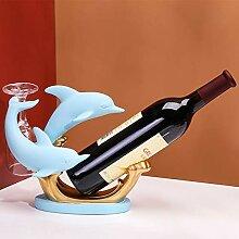 KINGEE Delfin Flaschenhalter Aus Harz,