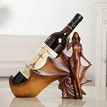 KINGEE Weinhalter Weinregal Beauty Shaped,