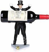 KINGEE Zauberer Weinständer Für Flaschen,
