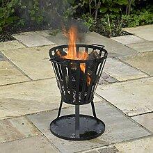 Kingfisher Fire Korb