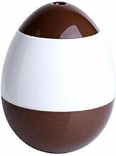 Kingko® 150ml Roly-poly Tumbler Startseite Aroma LED Luftbefeuchter Luftdiffusor Luftreiniger Zerstäuber Lufterfrischer (Braun)