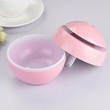 Kingko® LED Aroma Ultraschall Luftbefeuchter USB ätherisches Öl Diffusor Luftreiniger (Rosa)